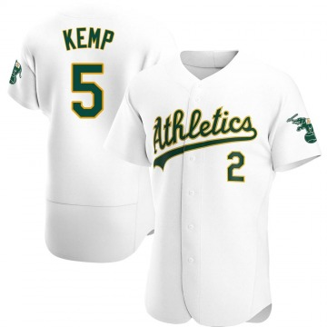 Men's Oakland Athletics Tony Kemp White Home Jersey - Authentic