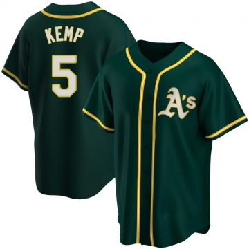 Youth Oakland Athletics Tony Kemp Green Alternate Jersey - Replica
